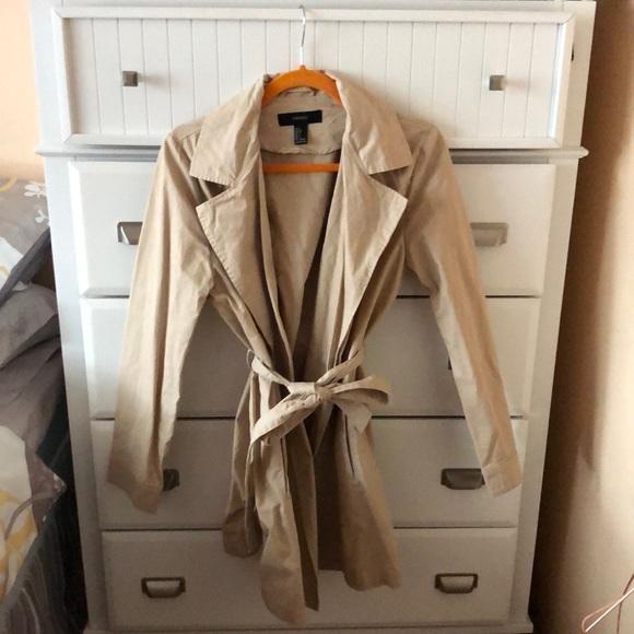 Forever 21 Jackets & Blazers - Forever 21 springtime trench coat.